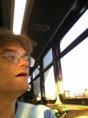 boy on the bus